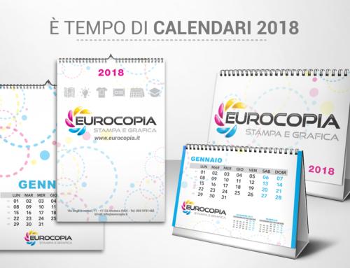 Personalizza il tuo calendario 2018