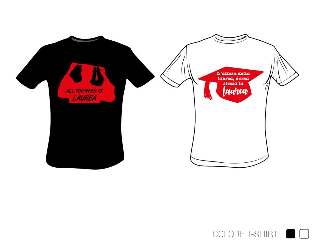 Popolare T-shirt per la tua LAUREA a €15 invece di 22€ » Eurocopia WW14